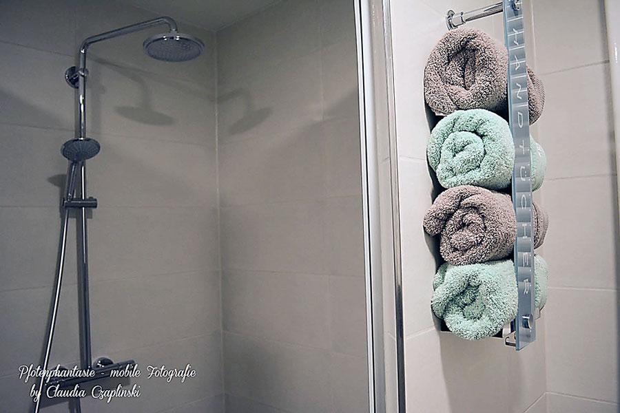 Badezimmer Ideen: Handtücher Müssen Nicht Immer In Einem Schrank Liegen.