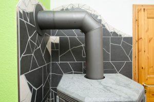 Auch so lässt sich ein Mosaik mit Fliesen herstellen.